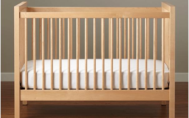 Keranjang bayi kombinasi kayu. Sumber : Google